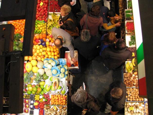 Kleinmarkthalle. Foto Grrl Scientist / Flickr / CC SA-BY 2.0