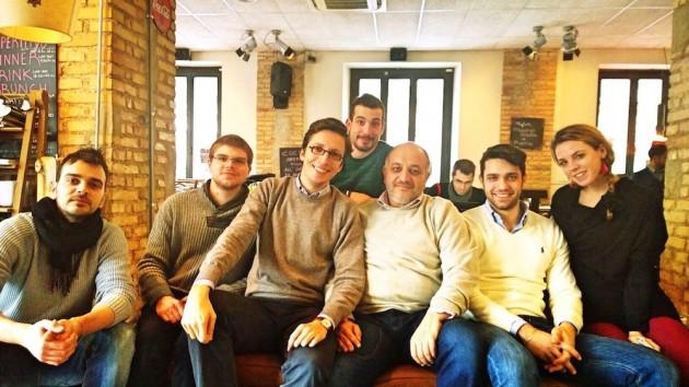 Nicola Mattina e il team di Stamplay