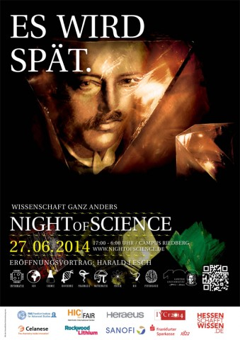 night of science poster
