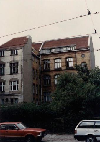 Friedrichstraße all'altezza di Torstraße, 1990 | © Alessandro Brogani